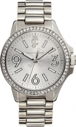 Juicy Couture Women's Jetsetter Stainless Steel Bracelet Watch 1900958