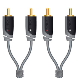 Sinox Audio Cable 2x RCA male - 2x RCA male 2m (SXA4202)