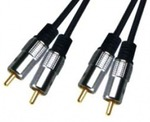 D&S Audio Cable 2x RCA male - 2x RCA male 3m (APA2003)