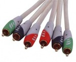 D&S Component Video Cable 3x RCA male - 3x RCA male 3m (A3028-07)