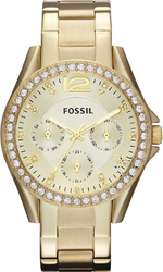 Fossil Riley Gold Stainless Steel Bracelet ES3203