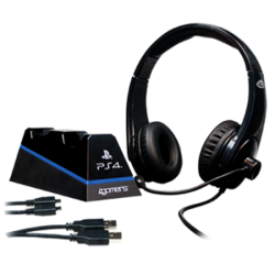 4Gamers Stereo Gaming Headset Starter Kit PS4