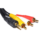 OEM AV Cable 3.5mm male - 3x RCA male 5m