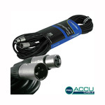 Accu-Cable Microphone Cable XLR male - XLR female 20m (AC-PRO-XMXF/20)