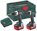 Metabo Combo Set 212 (BS18LT + SSW18LT)