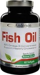 Anderson Fish Oil 60 μαλακές κάψουλες