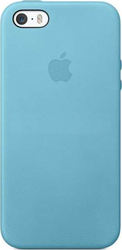 Apple Back Cover Leather Blue (iPhone 5/5s/SE)