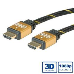 Roline HDMI Cable with Ethernet HDMI male - HDMI male 10m (11.04.5506)