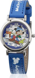 Disney Mickey Blue Analog Watch 98152