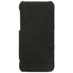 Stoneage Flip Leather Civilization Road Black (iPhone 5C)
