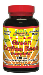 Dynamic Health Green Coffee Bean Complete 800mg 60 tabs