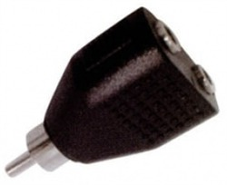 Lancom RCA male - 2x 6.3mm female (EA2059)