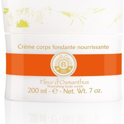Roger & Gallet Fleur d'Osmanthus Nourishing Absorbent Body Creme Pot 200ml