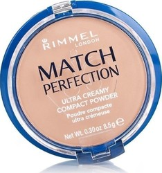 Rimmel Match Perfection Compact Powder 201 Classic Beige 8.5gr