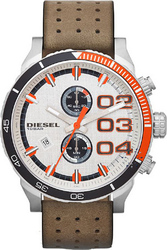 Diesel Double Down 48 Brown Leather Chronograph DZ4310