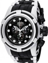 Invicta Bolt Zeus Chronograph Black Rubber Strap 0827