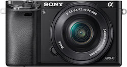 Sony α6000 Kit (16-50mm PZ OSS) Black