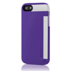 Incipio Stowaway Purple White (iPhone 5/5s/SE)