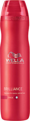 Wella Professionals Brilliance Shampoo for Thick Hair 250ml