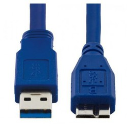 Esperanza Regular USB 3.0 to micro USB Cable Μπλε 1.5m