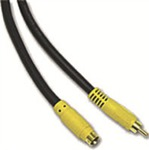OEM Video Cable RCA male - RCA female 5m (11696)