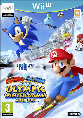 Mario & Sonic at the Sochi 2014 Olympic Winter Games Wii U