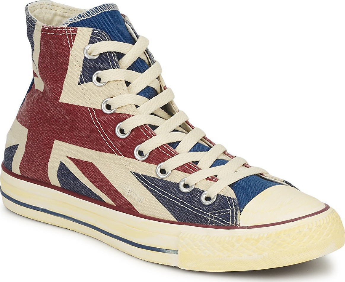 45f88f81dc9183 Προσθήκη στα αγαπημένα menu Converse All Star Chuck Taylor Hi Dirty UK Flag