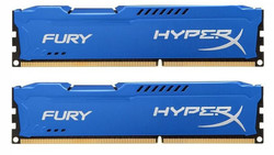 HyperX Fury Blue 16GB DDR3-1333MHz (HX313C9FK2/16)