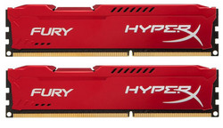 HyperX Fury Red 16GB DDR3-1333MHz (HX313C9FRK2/16)