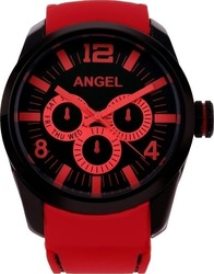 Angel Red Rubber Strap AGR705AR
