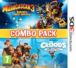 Madagascar 3 & The Croods: Combo Pack 3DS
