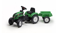 Falk Τρακτέρ Ranch Trac Green with Trailer