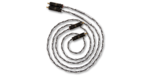 Kimber Kable Audio Cable Silver Streak Ultraplate 2x RCA male - 2x RCA male 1m