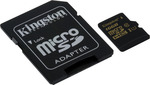Kingston microSDHC 16GB U1 with Adapter (SDCA10/16GB)