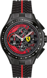 Ferrari Mens Scuderia Raceday Chrono Watch 830077