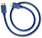 Kimber Kable HDMI Cable HDMI male - HDMI male 0.75m (HD-09 0.75m)