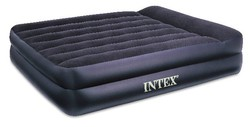 Intex Queen Pillow Rest Raised Airbed with Mossy Oak Camo Pattern 66720