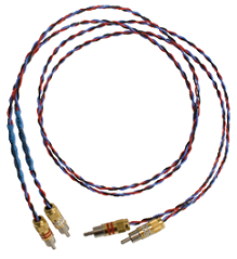 Kimber Kable PBJ Ultraplate Cable 2x RCA male - 2x RCA male 1m