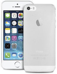 Puro Ultra Slim 0.3 White Transparent (iPhone 5/5s/SE)