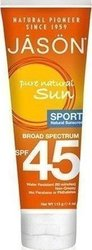 Jason Sun Sport Natural Sunscreen SPF45 113gr