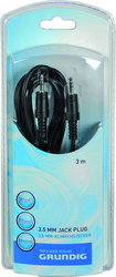 Grundig Audio Cable 3.5mm male - 3.5mm male 3m (51090)