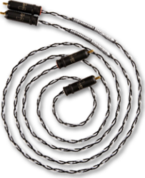 Kimber Kable Audio Cable Silver Streak WBT-0147 2x RCA male - 2x RCA male 0.5m