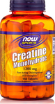 Now Foods Creatine Monohydrate 1200mg 150 ταμπλέτες