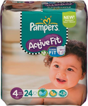 Pampers Active Fit No 4 (7-18Kg) 24τμχ