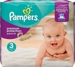 Pampers Active Fit No 3 (4-9Kg) 28τμχ
