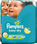 Pampers Baby Dry No 5+ (13-27Kg) 35τμχ
