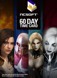 Ncsoft 60 Day Prepaid Card PC