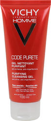 Vichy Homme Code Purete Purifying Cleansing Gel 100ml