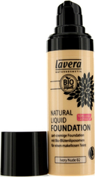 Lavera Natural Liquid Foundation 10H Long Lasting Ivory Nude 30ml