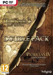 Patrician IV Gold & Port Royale 3 Gold Double Pack PC